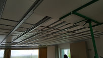 Faux-plafond - plâtrier