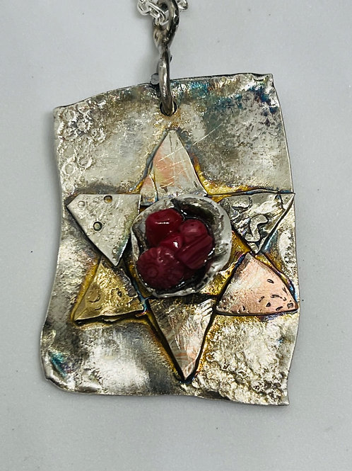 Diversity #3 Star of David Pendant