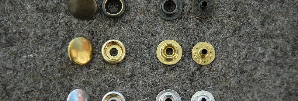 Druckknopfnieten 15,5mm verstärkt