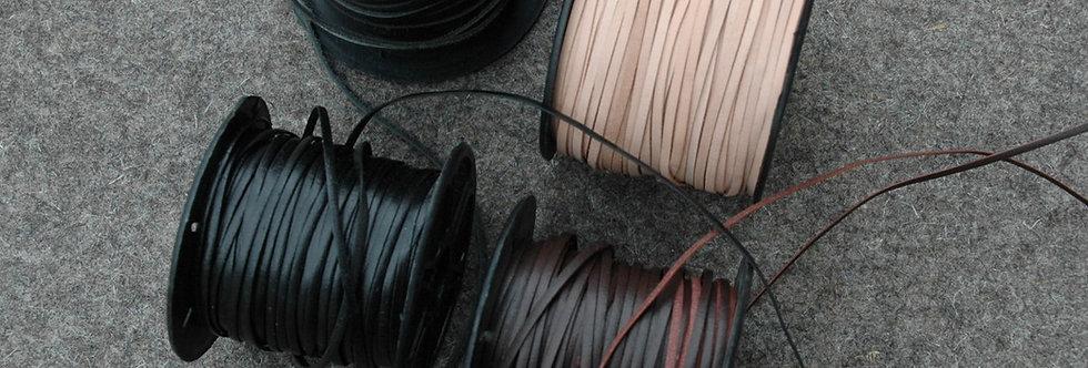Braidinglederschnur 2.5x1mm