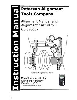 ALIGNMENT MANAGER 5.0a INSTRUCTION MANUAL (UPDATED FOR 2020)