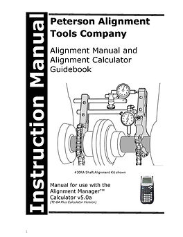 ALIGNMENT MANAGER 5.0a MANUAL (UPDATED FOR 2020)