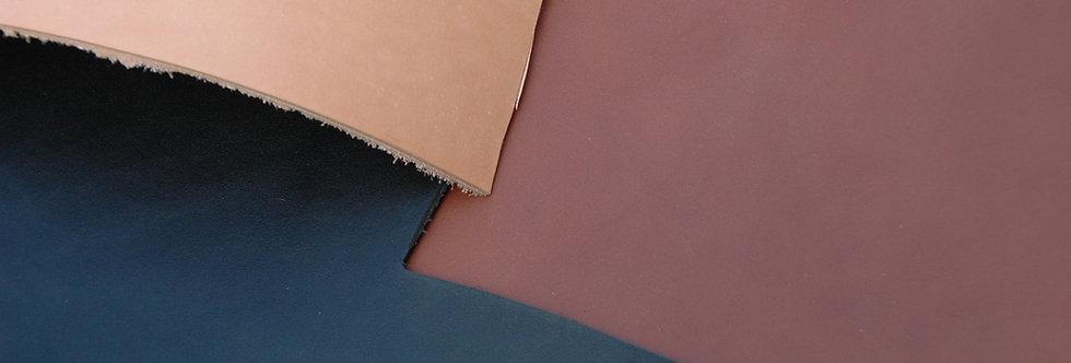 Orthopädieleder gefärbt