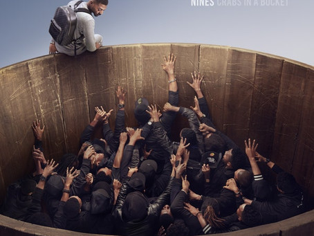 Nines Earns His First UK Number 1 With His Brand New Album 'Crabs In A Bucket'