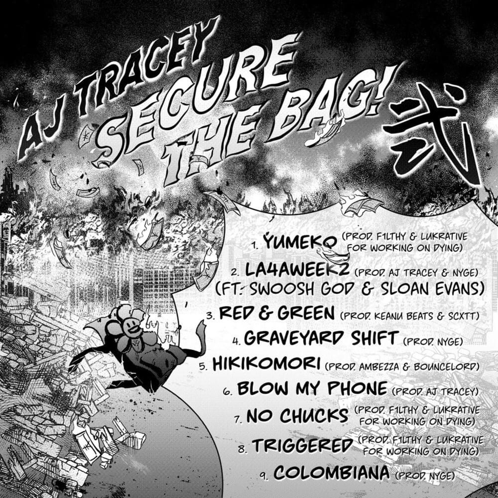 Track list for 'Secure The Bag! 2'
