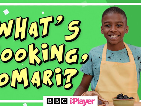12 Year Old Omari McQueen Has Landed His Own Cooking Show On CBBC