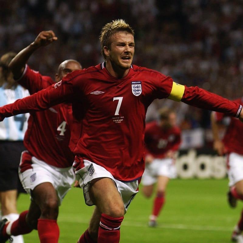 David Beckham, 2002 FIFA World Cup