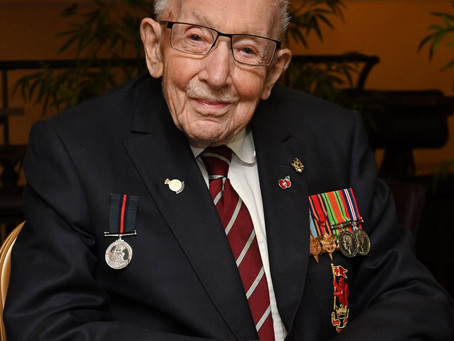 Captain Sir Tom Moore Passes Away At Age 100