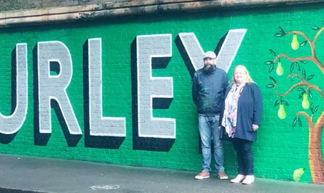 Network Rail Teams Up With Lionel Stanhope And Purley BID To A Create Brand New Mural In Purley