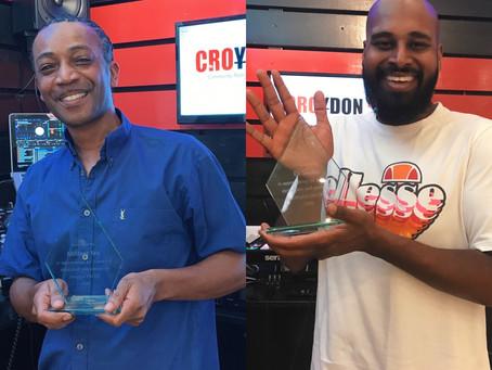 Militant Tee & DJ Shabz Receive The Next Two CFM Awards