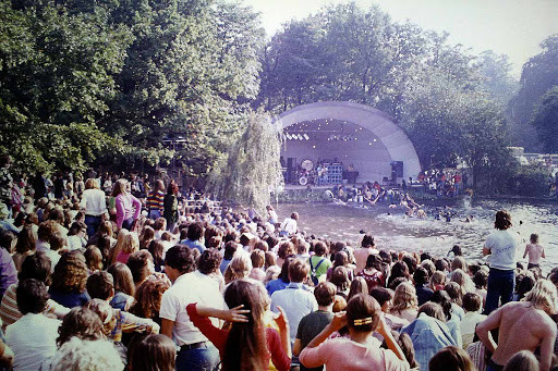 Crystal Palace Garden Party 1973