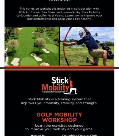 Golf Mobility Workshop / Columbine CC