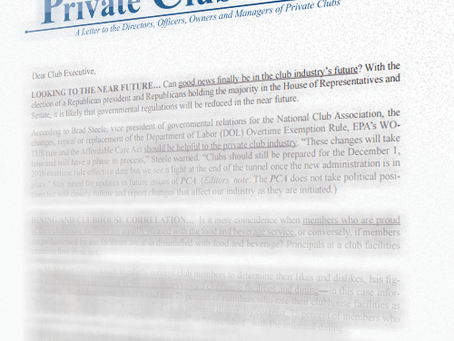 How to Spot Top Talent: Featured in Private Club Advisor