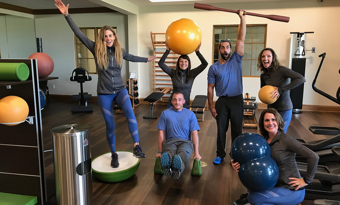 Private club fitness at Columbine Country Club