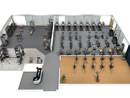 Master Plan for Fitness Center Design