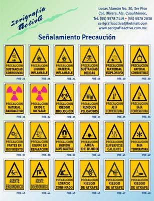 Señalamientos Precaución