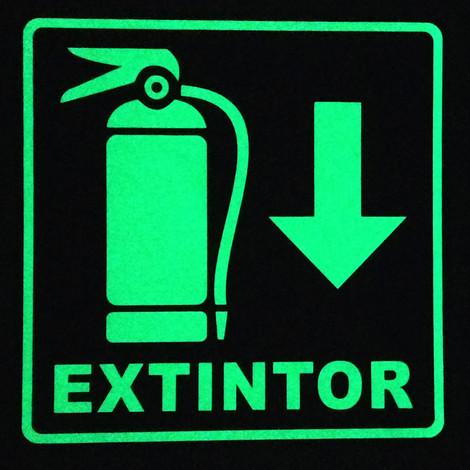Extintor Foto luminiscente