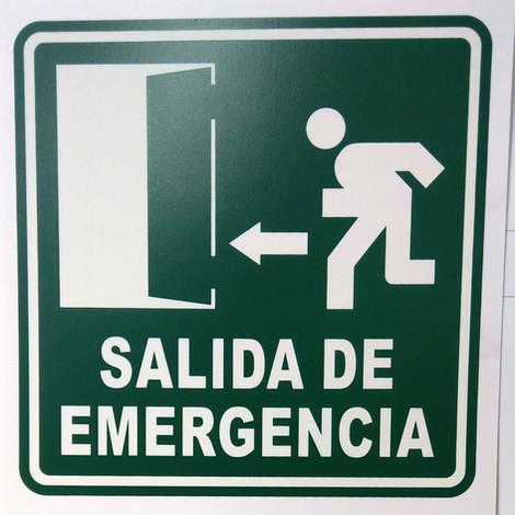 Salida de Emergencia Izquierda