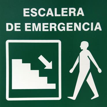 Escalera de Emergencia Izquierda