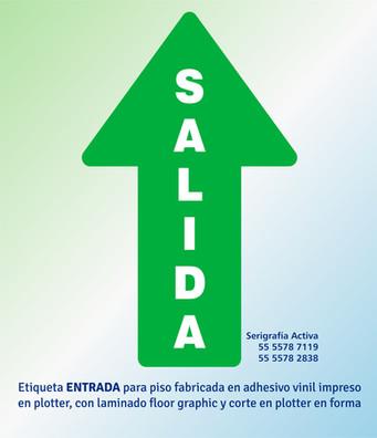 FLECHA SALIDA