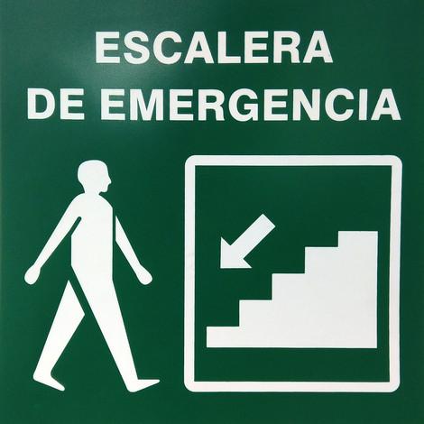 Escalera de Emergencia Derecha