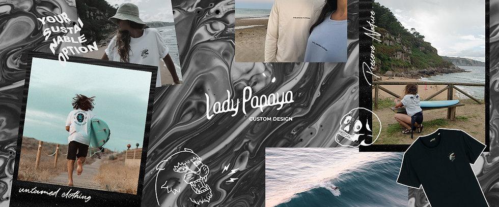 Lady Papaya Surf Skate Ropa Sostenible.j
