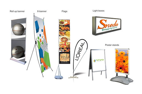 Pullup / Rollup/ X - Banners