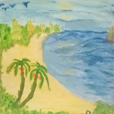 """""""Azul y playa"""""""