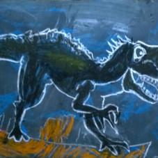 """""""Mi amigo el dinosaurio"""""""