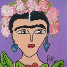 """""""Frida y sus flores"""""""