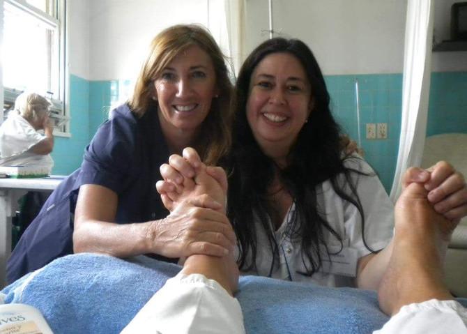 Reflexología: Toques en los pies que llegan al alma