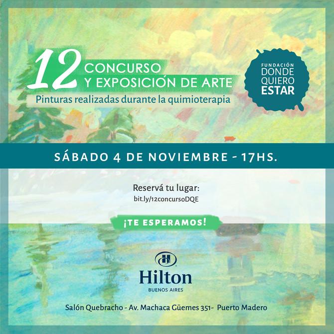 12va Edición del concurso y exposición de arte de DQE