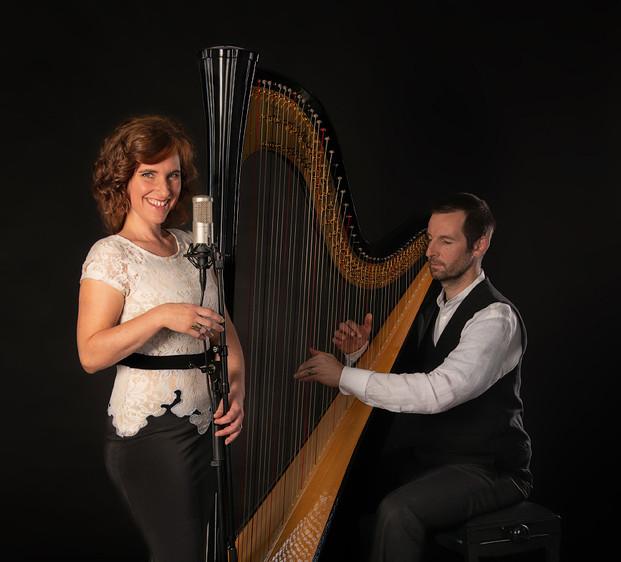 HarpVoc Sara Binet Harfe