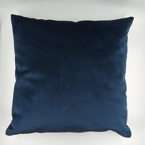 CAPA de Almofada Veludo Azul Marinho