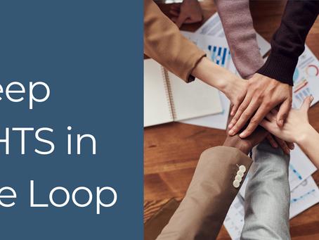 Keep CHTS in the Loop!