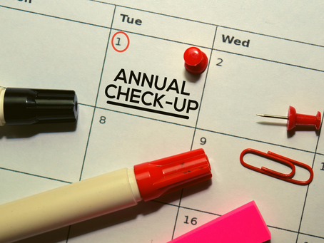 Have You Had Your Annual Checkup?