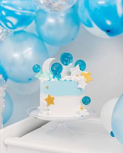 Happy 1st Birthday, Zach 💙 Another smas