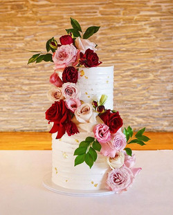 One of the last few wedding cakes from l