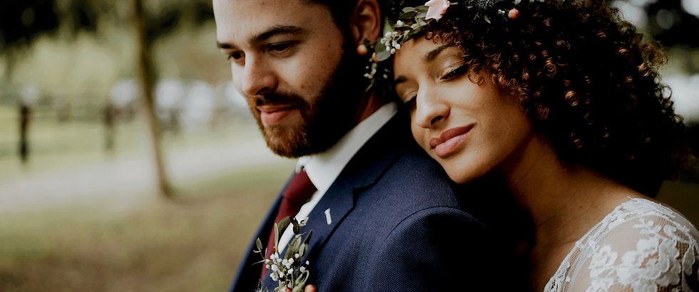 Mariage couple amoureux