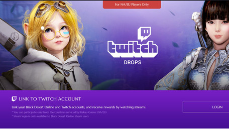 Twitch Drops Events Are Still Live For Black Desert