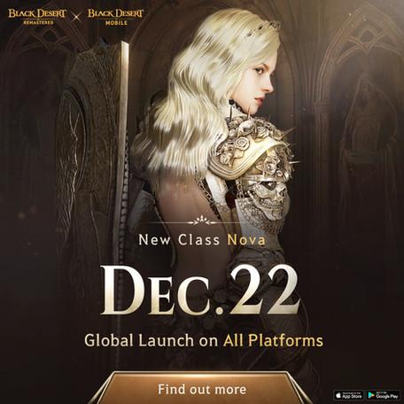 NOVA Update and Black Desert Online Future Content