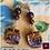 Thumbnail: Ossessione -  Earrings. Garnet & Handmade imprinted beads with 24k gold