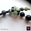 Thumbnail: TENDRESSE - SET Necklace & Earrings. Tree Agate & Labradorite