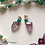 Thumbnail: Forêt Magique - SET earrings & double-necklace. Amathyste, Pearls, Amazonite