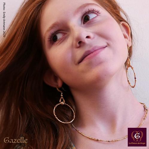 Gazelle - SET. Necklace & Earrings