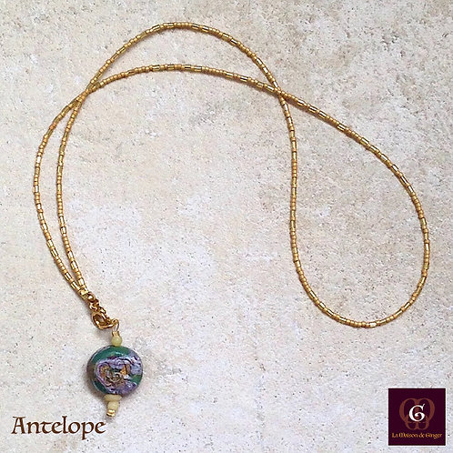 Antelope. Necklace