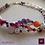 Thumbnail: Hippocampe. Set necklace & earrings. Pearls, Amethyste, Garnet, Amazonite
