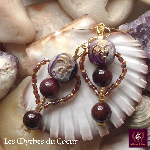 Les Mythes de Coeur - Earrings
