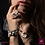 Thumbnail: Mona Lisa Ring. Pearls. Labradorite, Gold Plated Hematite