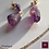 Thumbnail: Mystique -  SET Earrings & Necklace. Amathyste